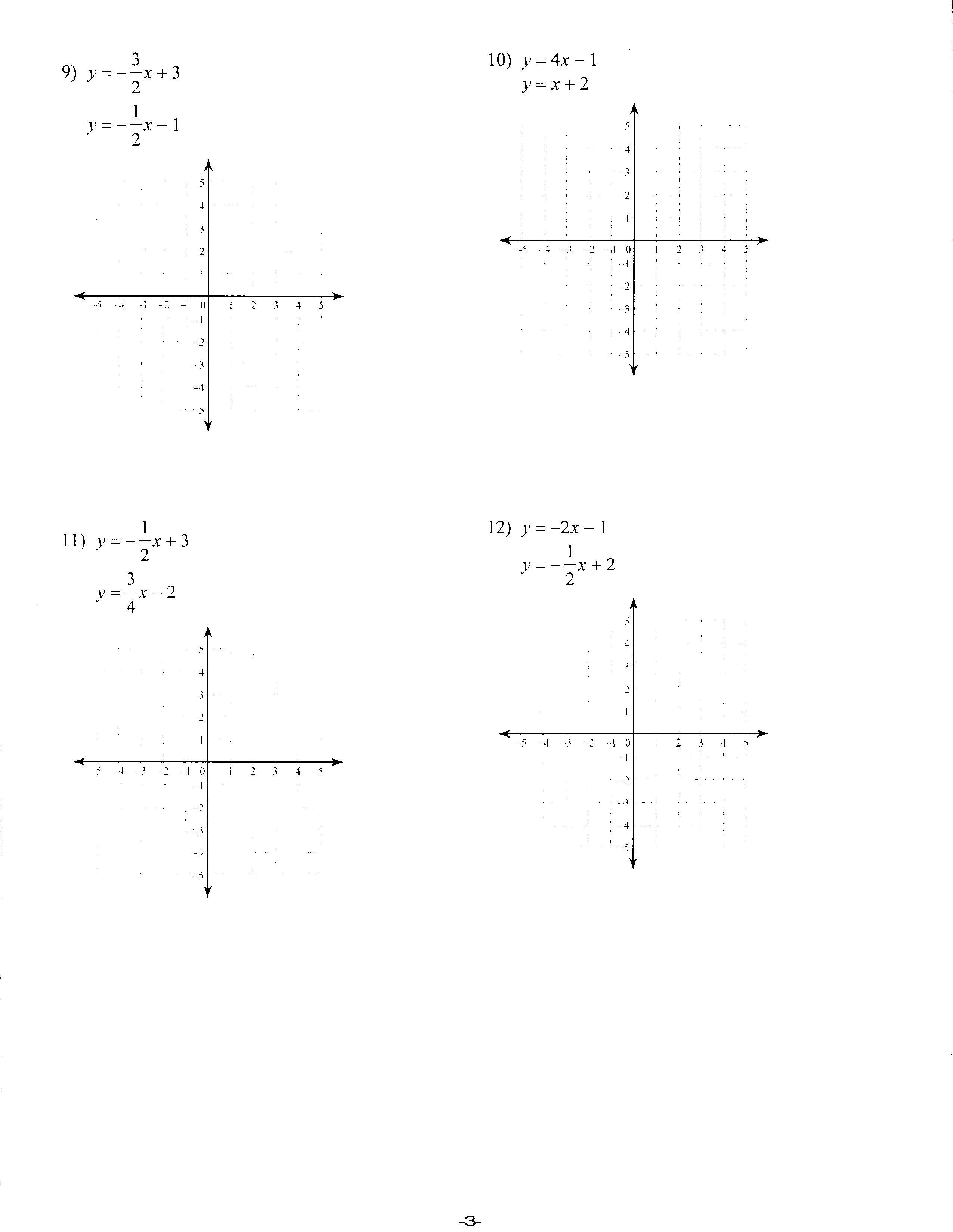 Worksheets Y Mx B Worksheet y mx b worksheets graphing lines with 8th 9th grade worksheet lesson