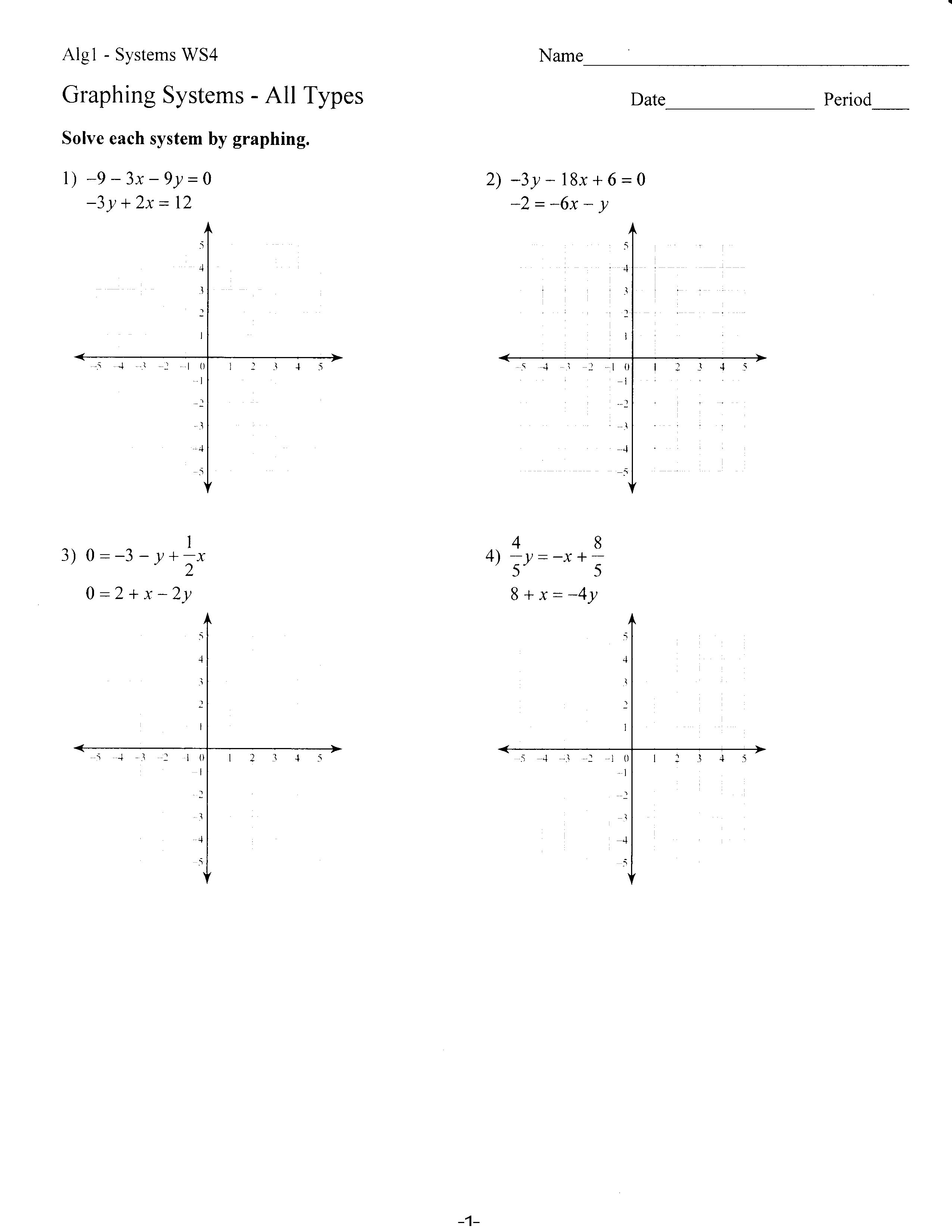 Collection of Y Mx B Worksheet - Sharebrowse